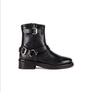 All Saints Roni Moto Boot in Black
